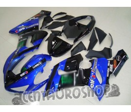 Carenatura ABS Kawasaki ZX-6R Ninja 636 05-06 Blue Motogp replica