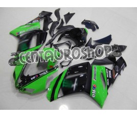Carenature replica Kawasaki ZX6R Ninja 636 07-08 Green Moto gp