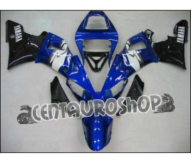 Carena in ABS Yamaha YZF 1000 R1 00-01 colorazione ALL BLACK