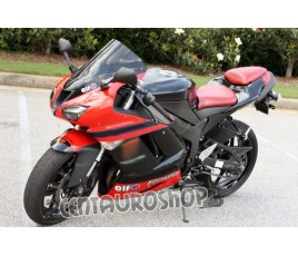 Carena in ABS Kawasaki ZX-6R Ninja 636 07 08 Red Moto Gp replica