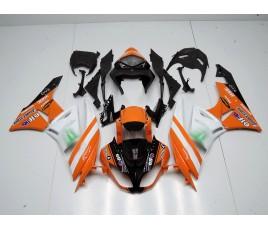 Carenature replica Kawasaki ZX6R Ninja 636 09-10 replica MotoGP Orange