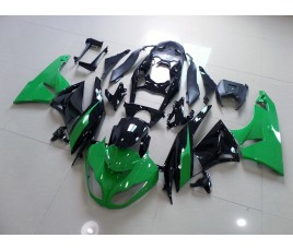 Carenature replica Kawasaki ZX6R Ninja 636 09-10 New Green & Black