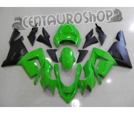 Carena in ABS Kawasaki ZX-10R Ninja 04-05 Green & Black original