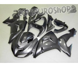 Carena in ABS Kawasaki ZX-10R Ninja 06 07 colorazione Titanium Black