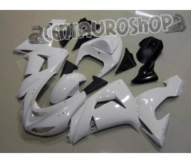 Carena in ABS Kawasaki ZX10R Ninja 06 07 colorazione All White
