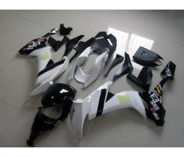 Carena in ABS Kawasaki ZX-10R Ninja 08-10 White SBK 2