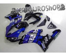 Carena in ABS Yamaha YZF 1000 R1 00-01 colorazione MATT BLACK