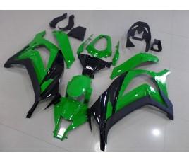 Carena in ABS Kawasaki ZX-10R Ninja 11-13 green and black 1
