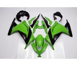 Carene ABS Kawasaki Ninja 300 2013 2014 Simple Green