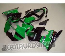 Carenatura in ABS Kawasaki ZX-6R Ninja 600 2000 2002 MotoGP replica