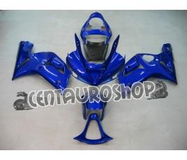 Carenatura in ABS Kawasaki ZX-6R Ninja 636 2003 2004 colorazione Blue