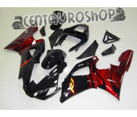 Carena in ABS Yamaha YZF 1000 R1 00-01 colorazione ROSSI FIAT