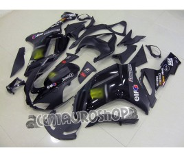 Carena in ABS Kawasaki ZX-6R Ninja 636 2007 2008 Racing Black