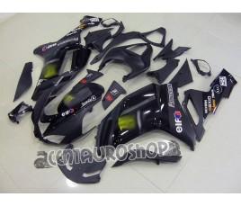 Carena in ABS Kawasaki ZX-6R Ninja 636 2007 2008 Racing Black