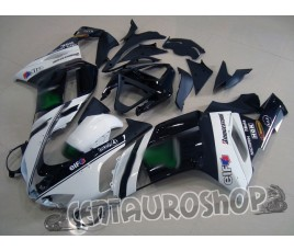 Carene replica Kawasaki ZX6R Ninja 636 07-08 Moto gp bianco