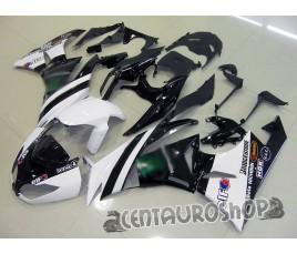 Carenature replica Kawasaki ZX6R Ninja 636 09-10 replica MotoGP White