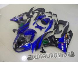 Carenature replica Kawasaki ZX6R Ninja 636 09-10 MotoGP blue