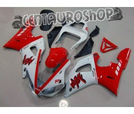 Carena in ABS Yamaha YZF 1000 R1 00-01 colorazione RED FLAMES
