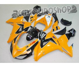 Carene in ABS Kawasaki ZX10R Ninja 2006 2007 colorazione Orange