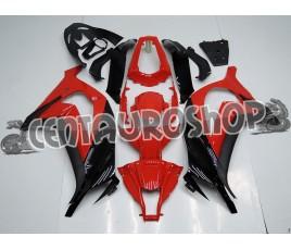 Carena in ABS Kawasaki ZX-10R Ninja 11-13 rossa classica