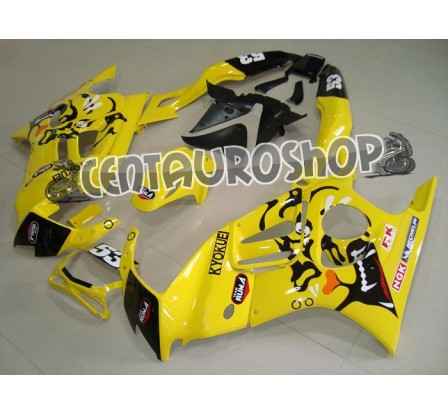 Carena in ABS Honda CBR 600 F3 97-98 colorazione Yellow Tiger