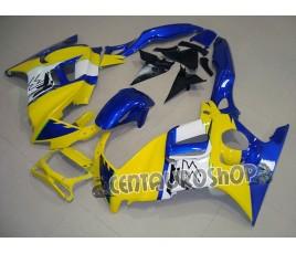 Carenature in ABS Honda CBR 600 F3 97-98 Giallo e blu Custom