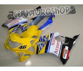 Carena in ABS Honda CBR 600 F4 99-00 Nastro Azzurro Replica