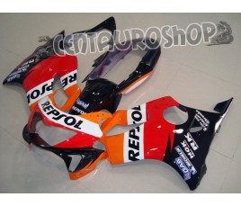 Carena in ABS Honda CBR 600 F4 99-00 colorazione Repsol