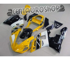 Carena in ABS Yamaha YZF 1000 R1 00-01 colorazione ALL WHITE