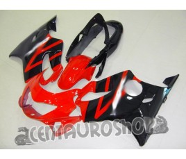 Carena in ABS Honda CBR 600 F4 99-00 colorazione Winning red