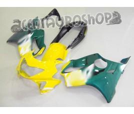 Carena in ABS Honda CBR 600 F4 99-00 colorazione yellow & green