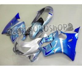 Carena in ABS Honda CBR 600 F4 99-00 colorazione silver & blue