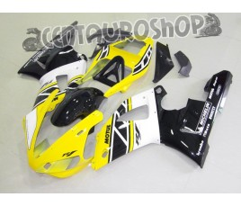 Carena in ABS Yamaha YZF 1000 R1 00-01 colorazione YELLOW & BLACK