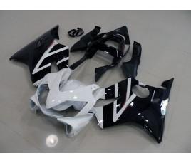 Carena ABS Honda CBR 600 F4i/FSport 01-09 colorazione black & silver