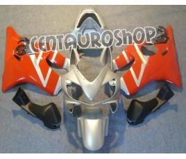 Carena in ABS Honda CBR 600 F4i/FSport 01-09 colorazione red & silver