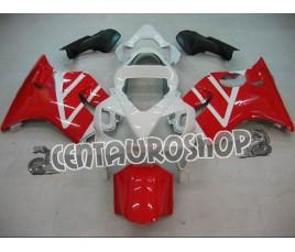 Carena in ABS Honda CBR 600 F4i/FSport 01-09 colorazione red & white