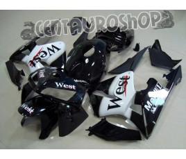 Carena in ABS Honda CBR 600 RR 03-04 colorazione West