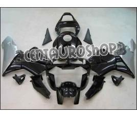 Carena in ABS Honda CBR 600 RR 03-04 colorazione black & silver