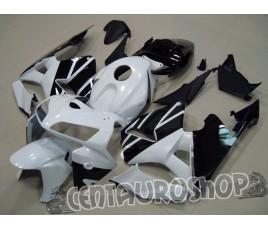Carena in ABS Honda CBR 600 RR 03-04 colorazione black & white