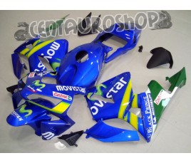 Carena in ABS Honda CBR 600 RR 03-04 colorazione Movistar