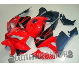Carena in ABS Honda CBR 600 RR 05-06 colorazione Red & Black