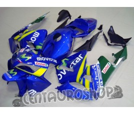 Carena in ABS Honda CBR 600 RR 05-06 colorazione Movistar