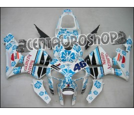 Carena ABS Honda CBR 600 RR 05-06 NSR Rossi Replica Mugello