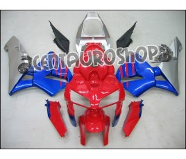 Carena in ABS Honda CBR 600 RR 05-06 colorazione red & blue