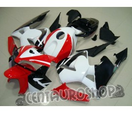 Carena in ABS Honda CBR 600 RR 05-06 colorazione White & Black