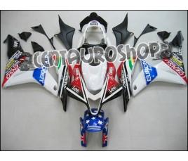 Carena in ABS Honda CBR 600 RR 07-08 colorazione Eurobet