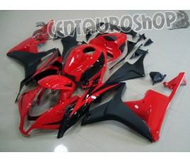 Carena in ABS Honda CBR 600 RR 07-08 Red & Black