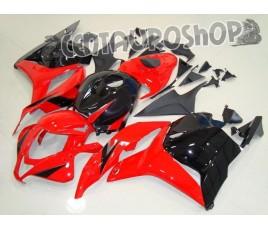 Carena ABS Honda CBR 600 RR 09-10 Black & Red