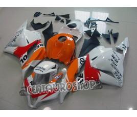 Carena ABS Honda CBR 600 RR 09-10 Repsol Bianca