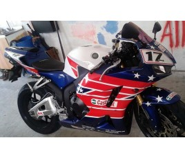 Carena ABS Honda CBR 600 RR 13 15 Laguna Seca Colin Edwards replica